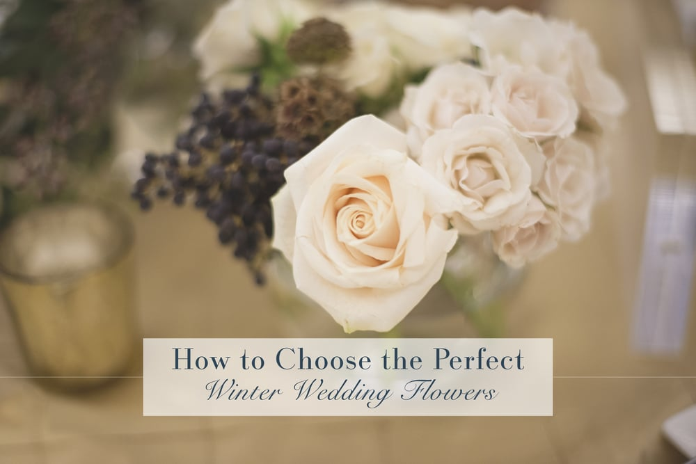 How to Choose the Perfect Winter Wedding Flowers | Aleen Floral Design Feature
