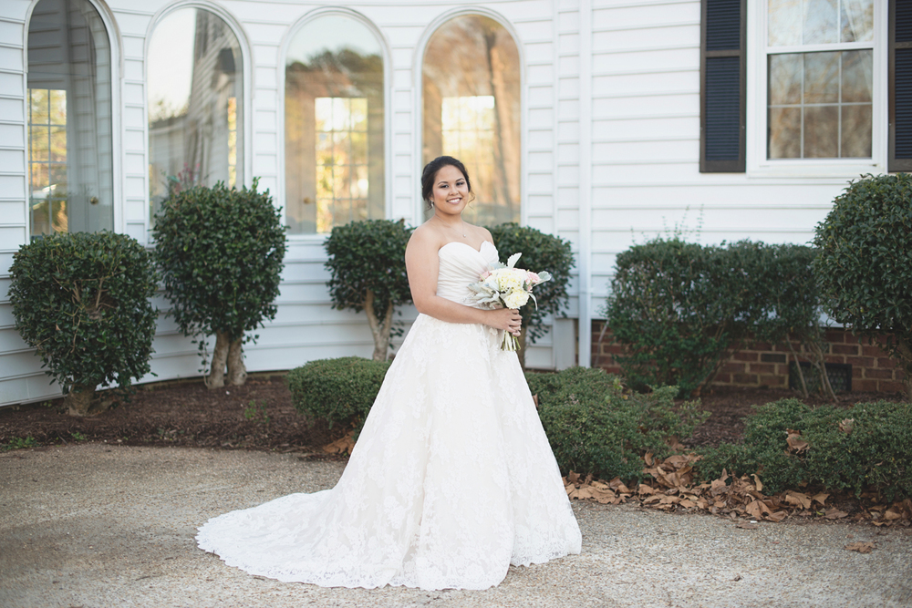 Glowy Fall Bridal Portraits | Virginia Beach Bride