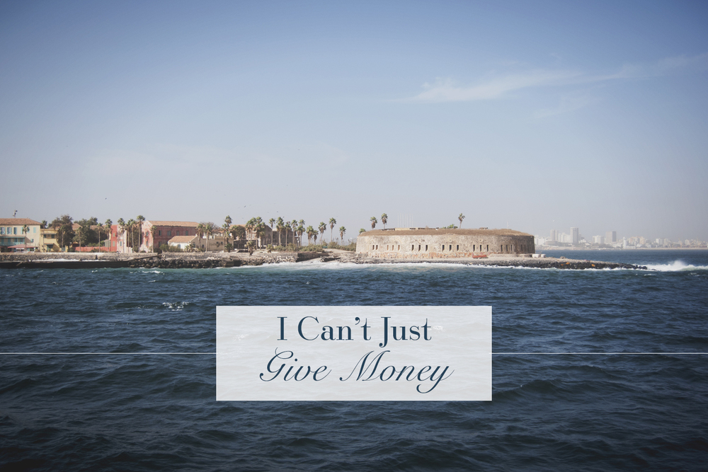I Can't Just Give Money | Personal