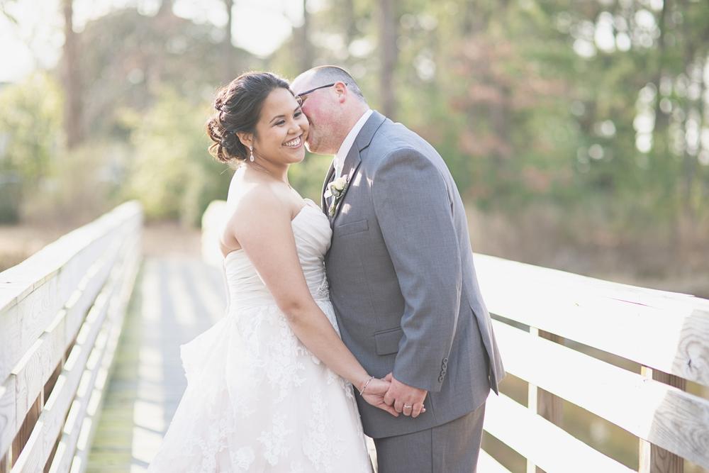 Blush, mint, and ivory spring wedding | Virginia wedding
