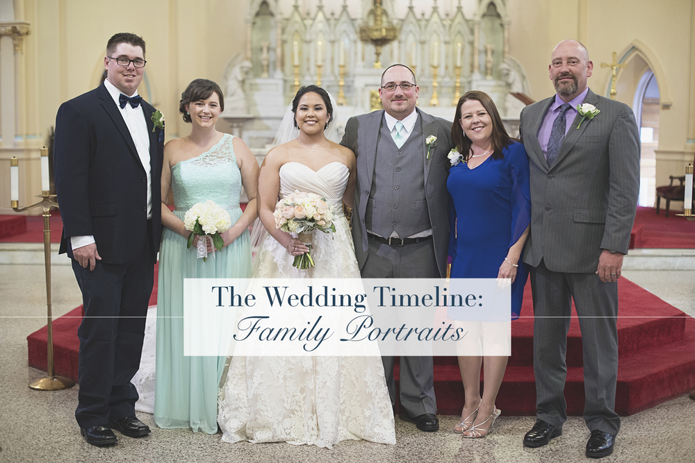 The Wedding Timeline: Family Portraits