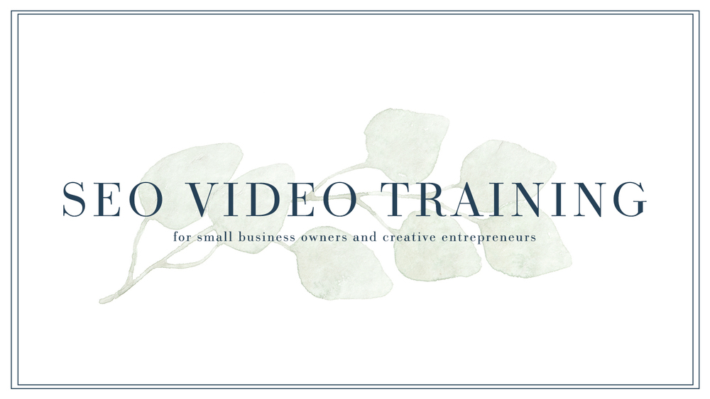 SEO Video Training for Small Business Owners