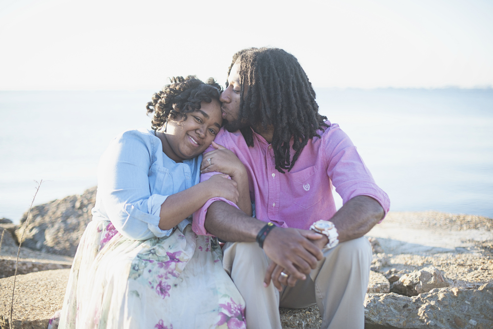 Sunrise Spring Anniversary Session in Hampton, Virginia