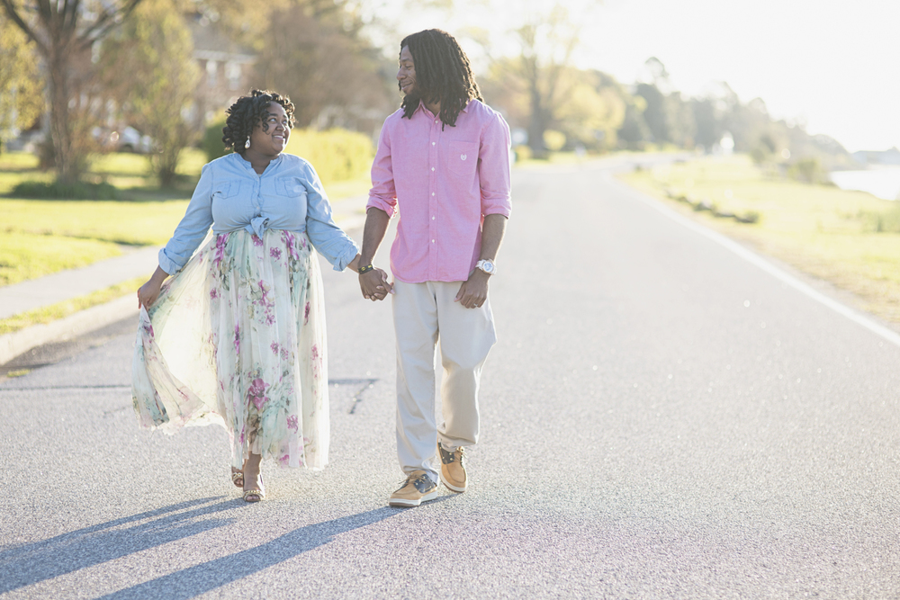 Sunrise Spring Anniversary Session | Hampton, Virginia