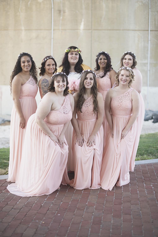 Blush, mint, and gold spring wedding | Yorktown, Virginia wedding |