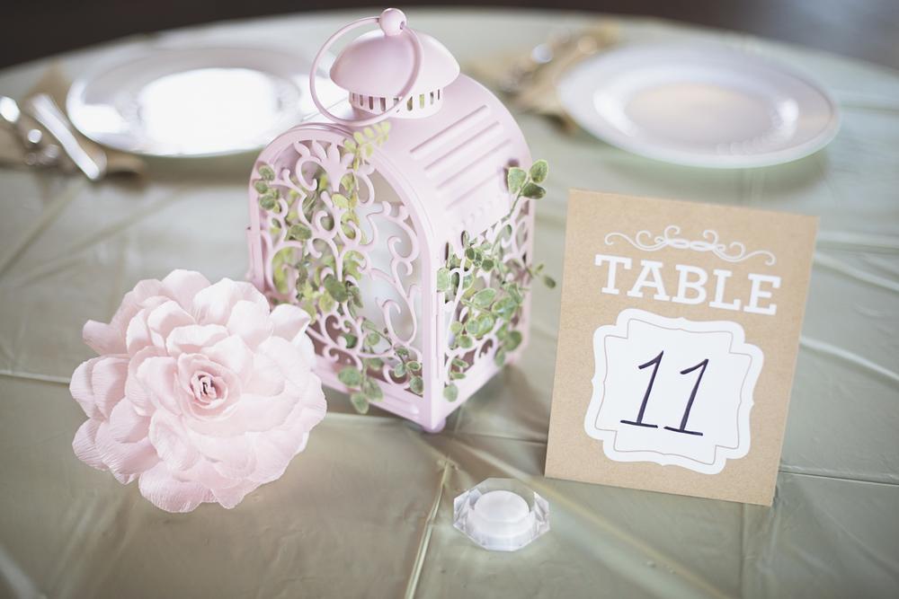Blush, mint, and gold spring wedding | Yorktown, Virginia wedding | Wedding reception