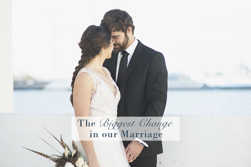 The Biggest Change in our Marriage | Monday Musings