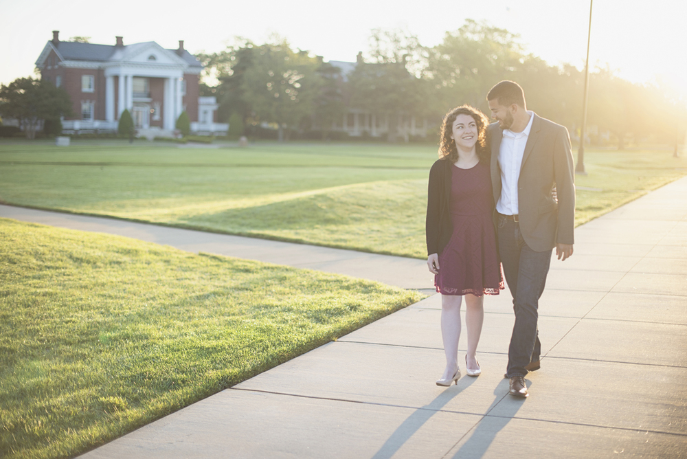 Sunrise waterfront engagement session | Fort Monroe, Hampton, Virginia