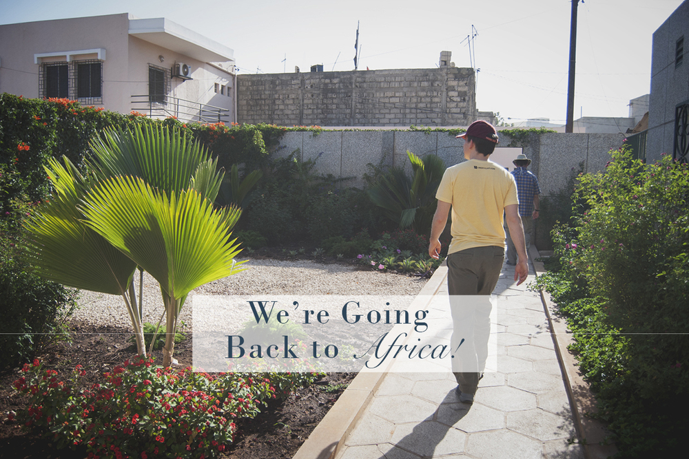 We're Going Back to Africa! | Monday Musings