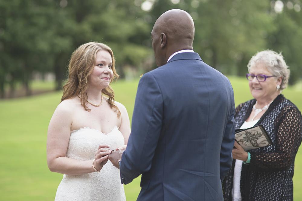Intimate Military Elopement | Smithfield, Virginia Wedding | Wedding ceremony