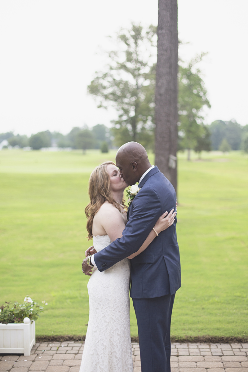 Intimate Military Elopement | Smithfield, Virginia Wedding | Wedding ceremony