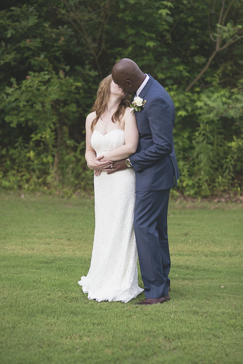 Intimate Military Elopement | Smithfield, Virginia Wedding | Bride and groom portraits