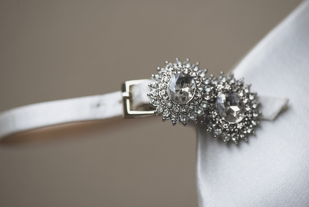 Great Gatsby Themed Urban Wedding | 1920s earrings