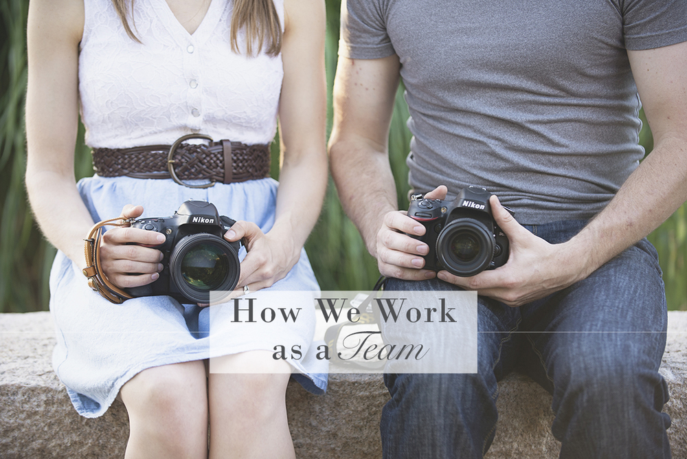 How We Work as a Husband/Wife Photography Team