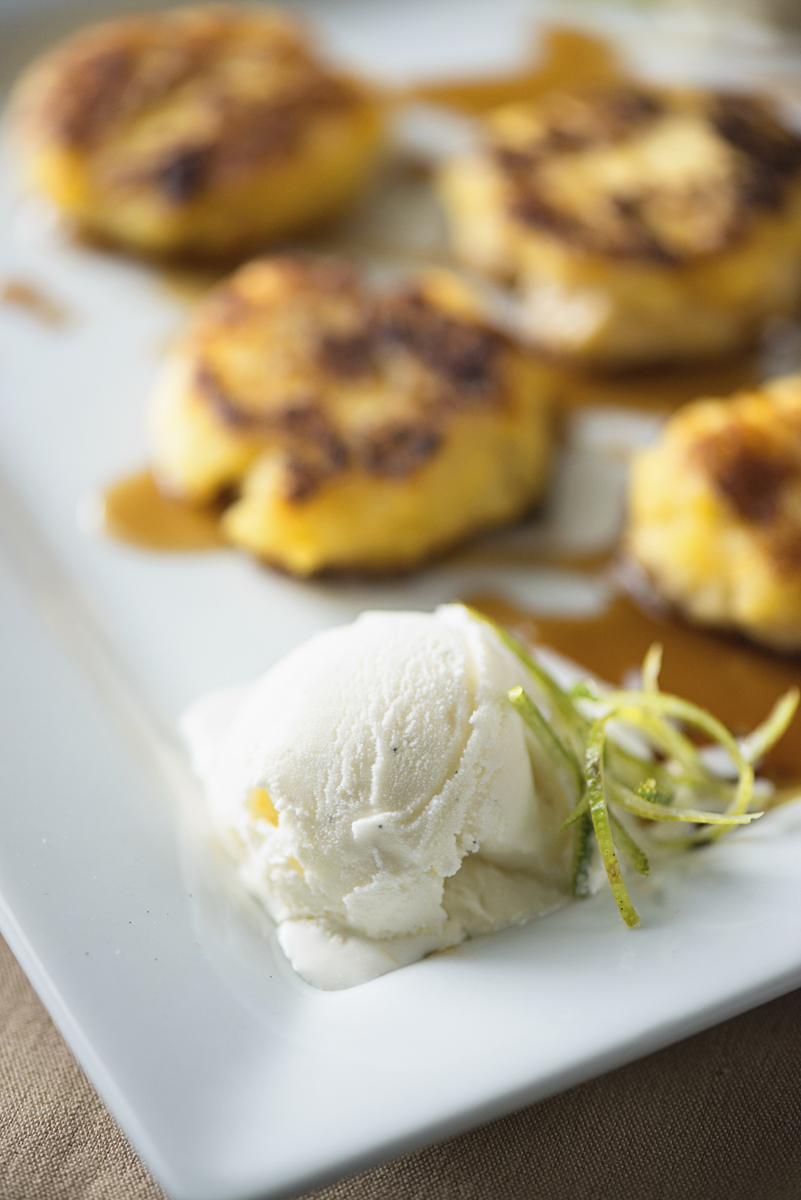 2016 Rio Olympics Styled Shoot | Fried cinnamon plantains with ice cream