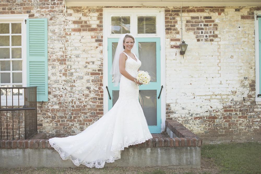 Quaint Downtown Bridal Portraits in Virginia