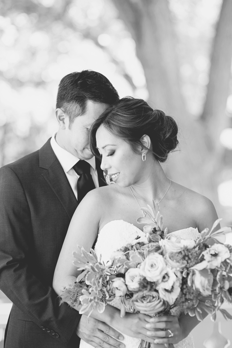 Elegant Southern Style Mansion Wedding | Gray and Lavender | Bride + Groom Portraits