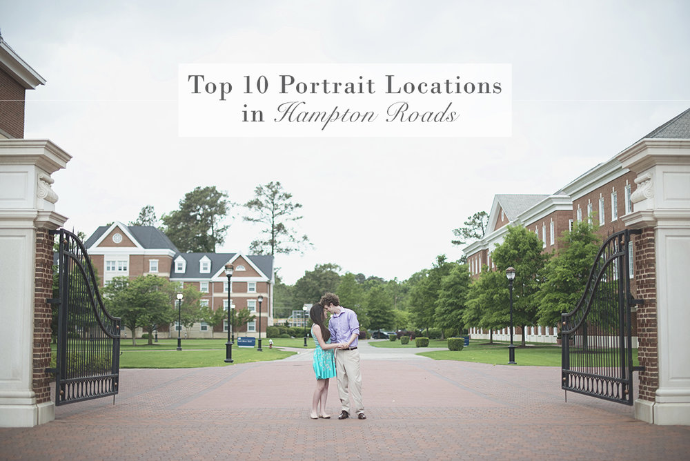 Top 10 Best Places in Hampton Roads for Family + Couple Portraits