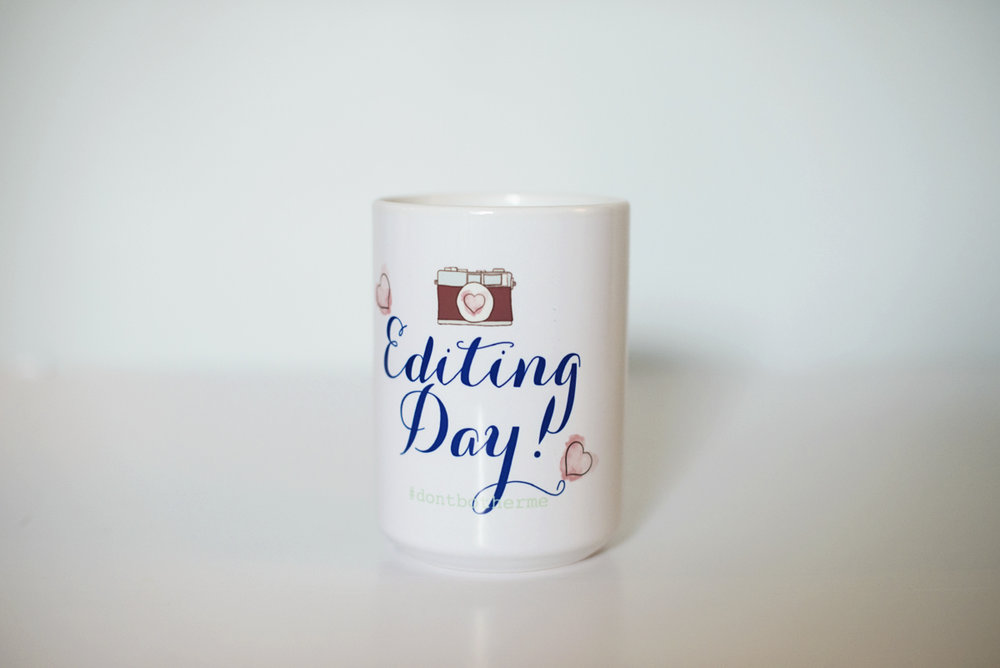 The Editing Mug | Mug Series Monday