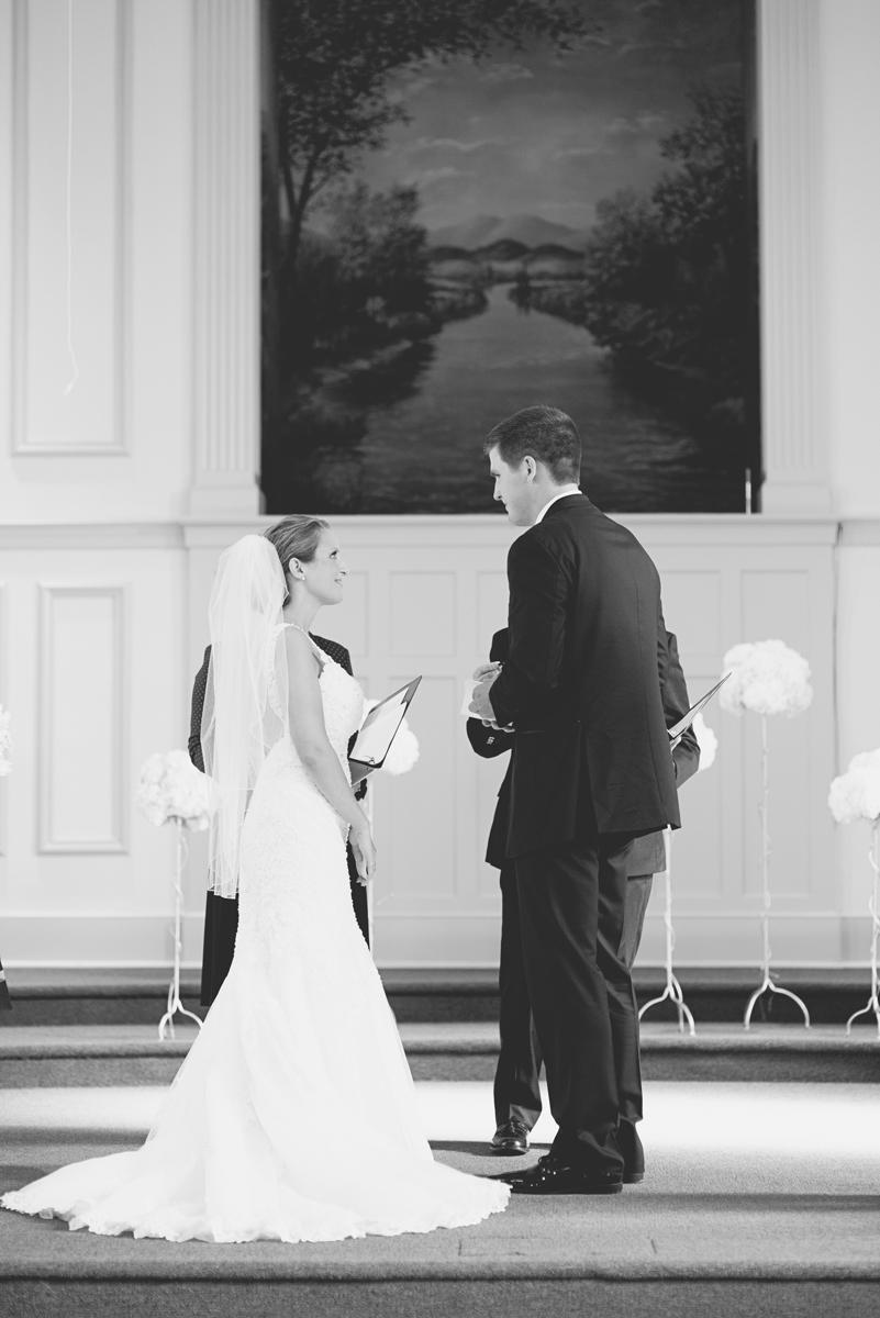 Nautical Navy Virginia Wedding | Navy Blue Wedding Colors | Wedding Ceremony
