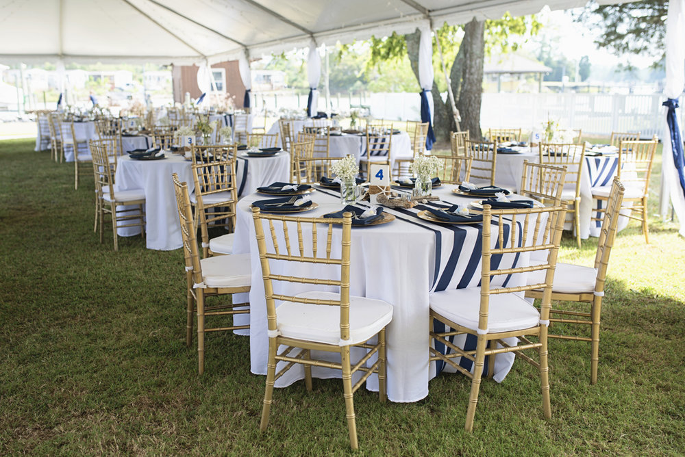Nautical Navy Virginia Wedding | Navy Blue Wedding Colors | Nautical Themed Wedding Reception