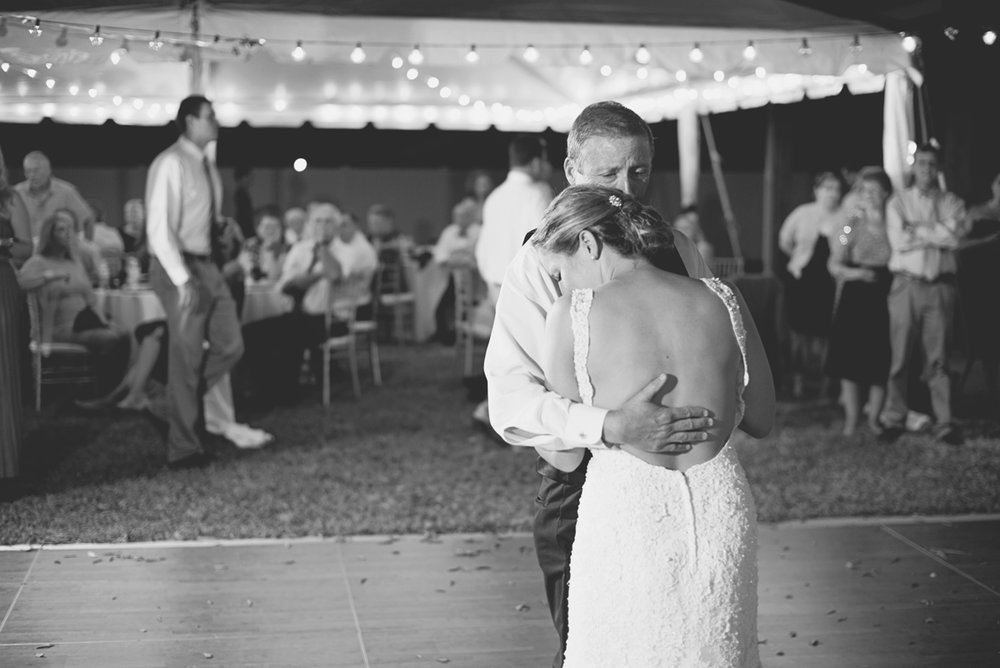 Nautical Navy Virginia Wedding | Navy Blue Wedding Colors | Father daughter dance