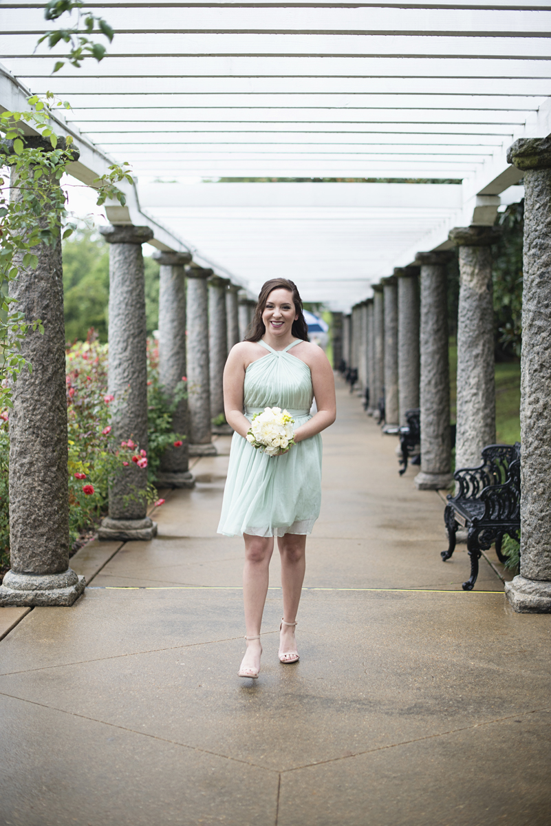 Teal, White, and Gold wedding | Richmond Virginia Wedding | Teal bridesmaid dress