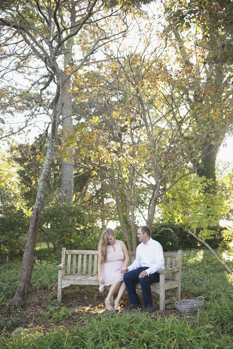Classy Fall Engagement Session in Norfolk, Virginia