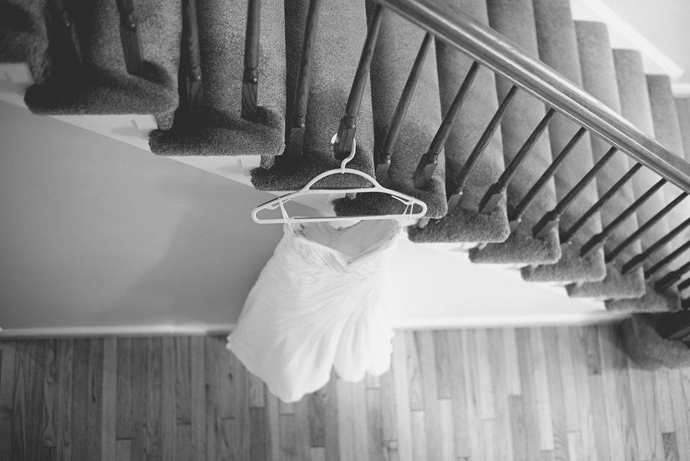Orange and Maroon Virginia Tech Fall Wedding | Zion Springs Bed + Breakfast | Wedding dress