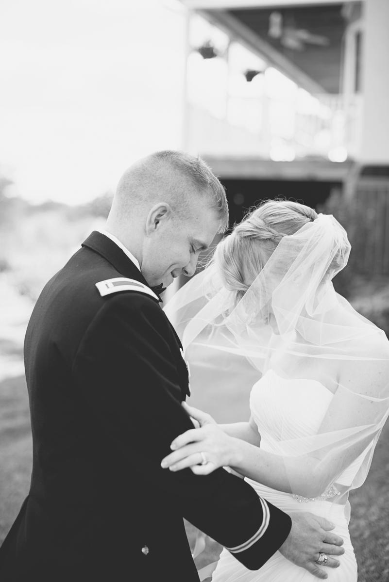 Orange and Maroon Virginia Tech Fall Wedding | Zion Springs Bed + Breakfast | Bride + groom first look portraits