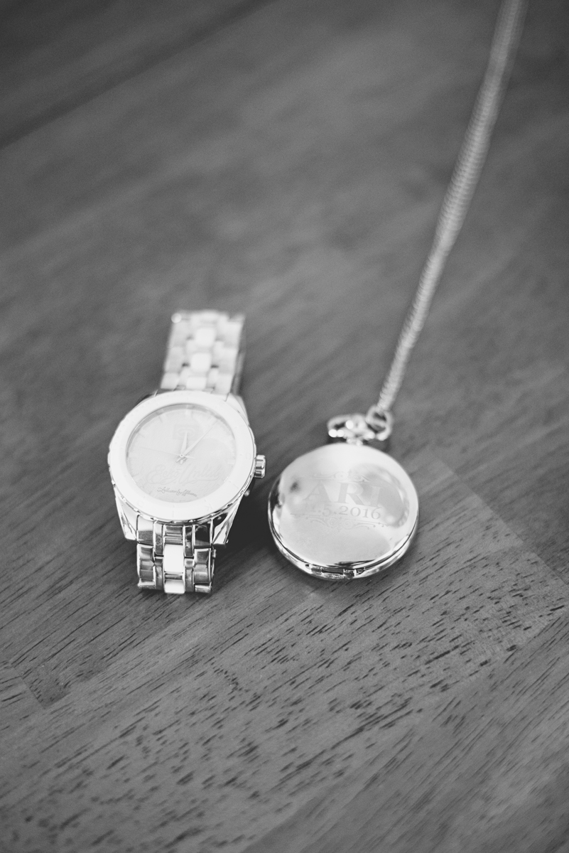Blue and Silver Waterside Wedding | Virginia Beach Wedding | Groom pocket watch