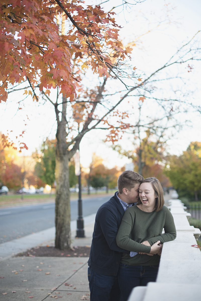 Casual Fall Engagement Pictures