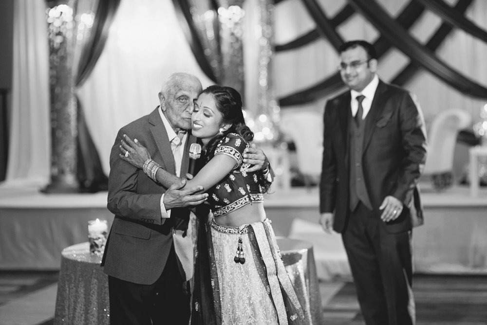 Royal Purple and Gold Indian Wedding | Washington, DC | Purple and gold wedding reception