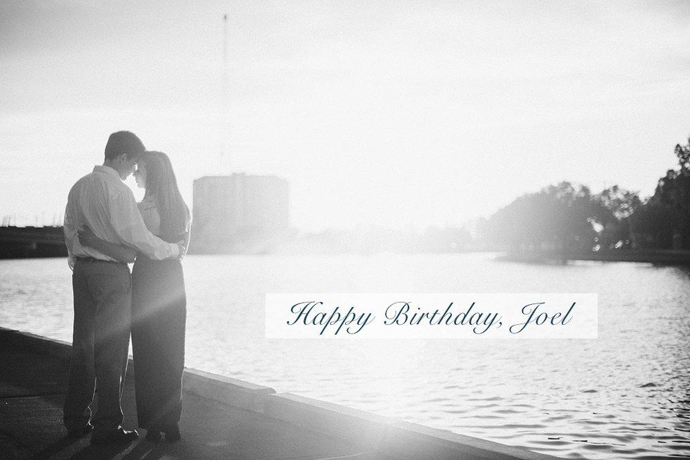 Happy Birthday, Joel