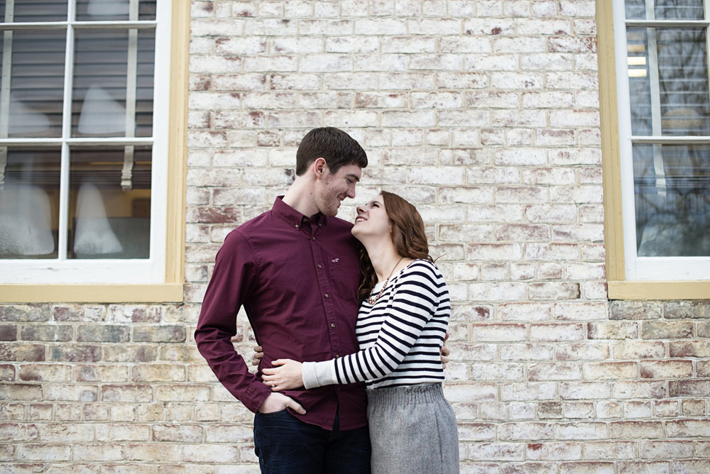 Colonial Williamsburg Winter Engagement Session