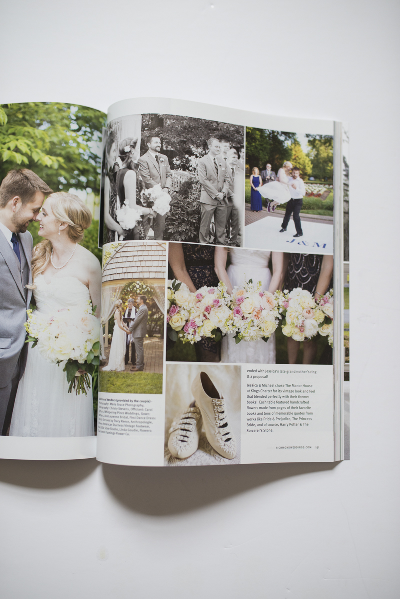 Richmond Weddings Magazine Feature