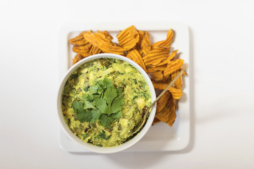 Indian-Spiced Guacamole Recipe