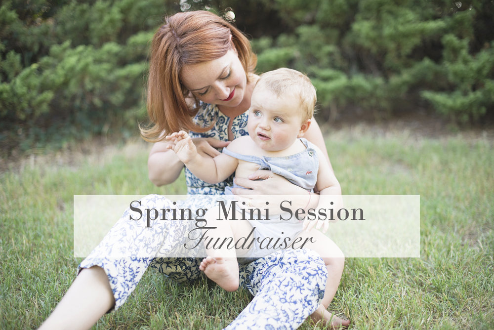 Hampton Roads Spring Mini Session Fundraiser