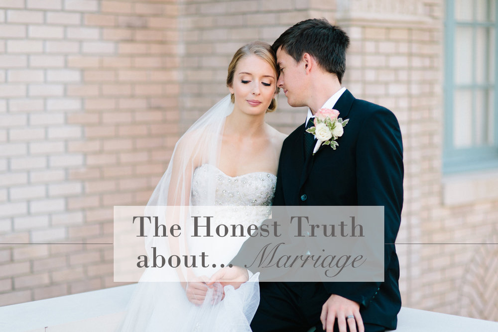 The Honest Truth About...Marriage | Monday Musings