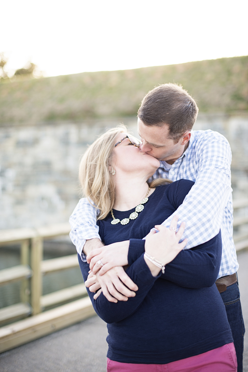 Sunset Spring Engagement Session Outfit Ideas | Hampton, Virginia