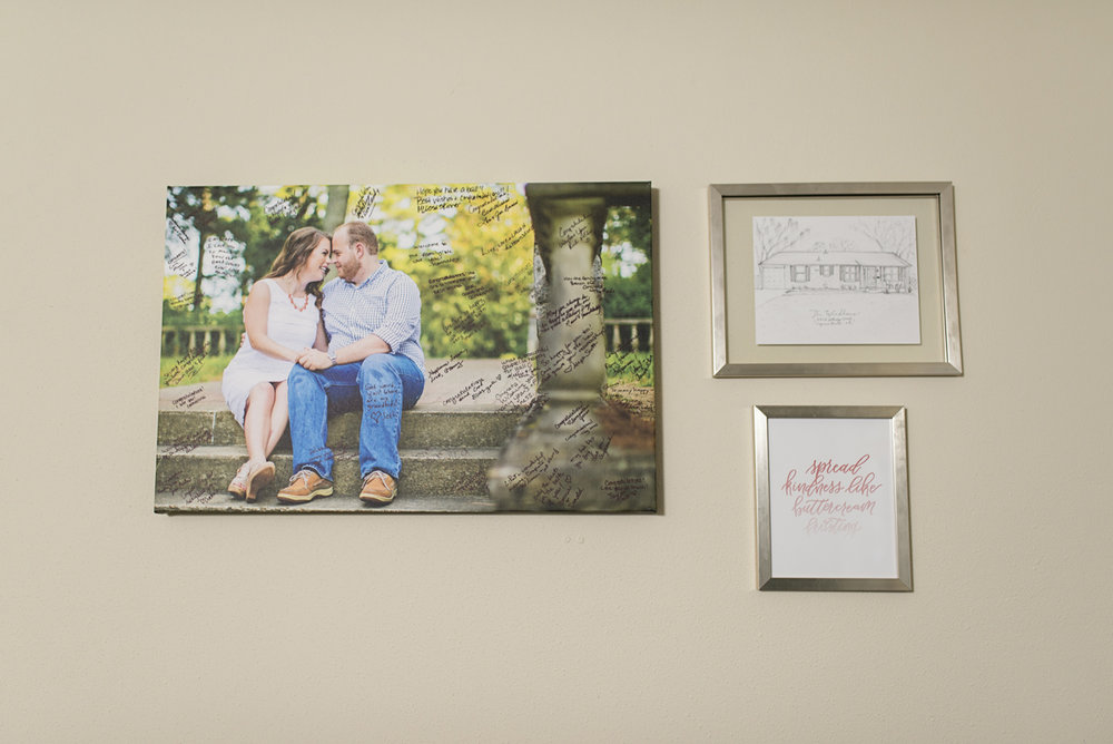 Wedding Gallery Wall