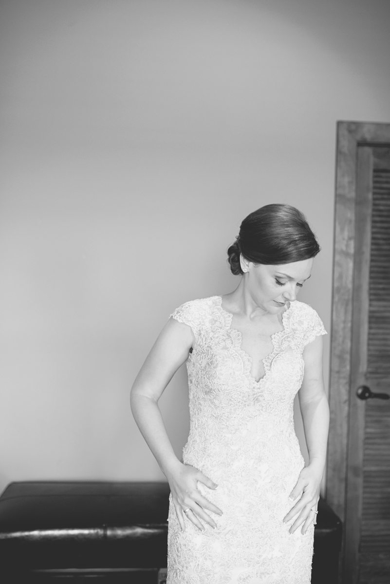 Elegant Summer Winery Elopement | Bride Getting Ready