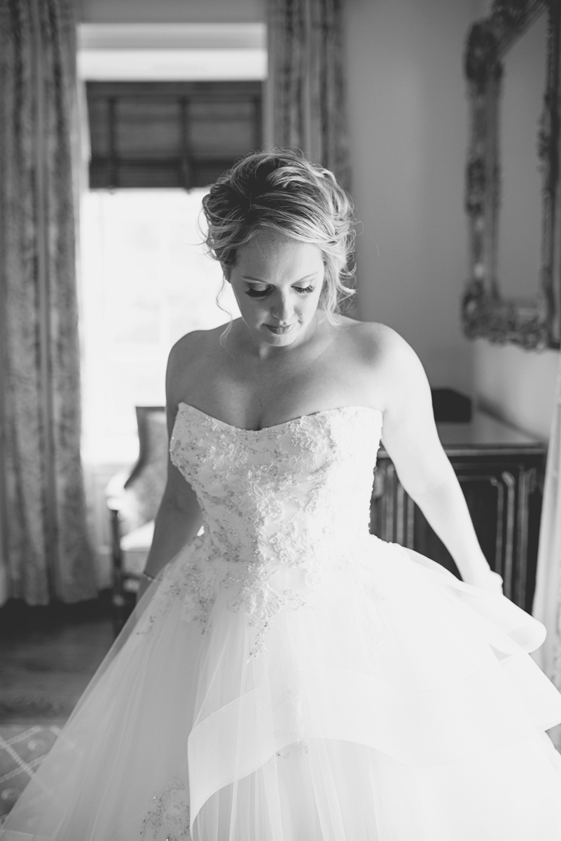 Albemarle Estate at Trump Winery Wedding | Bride Getting Ready