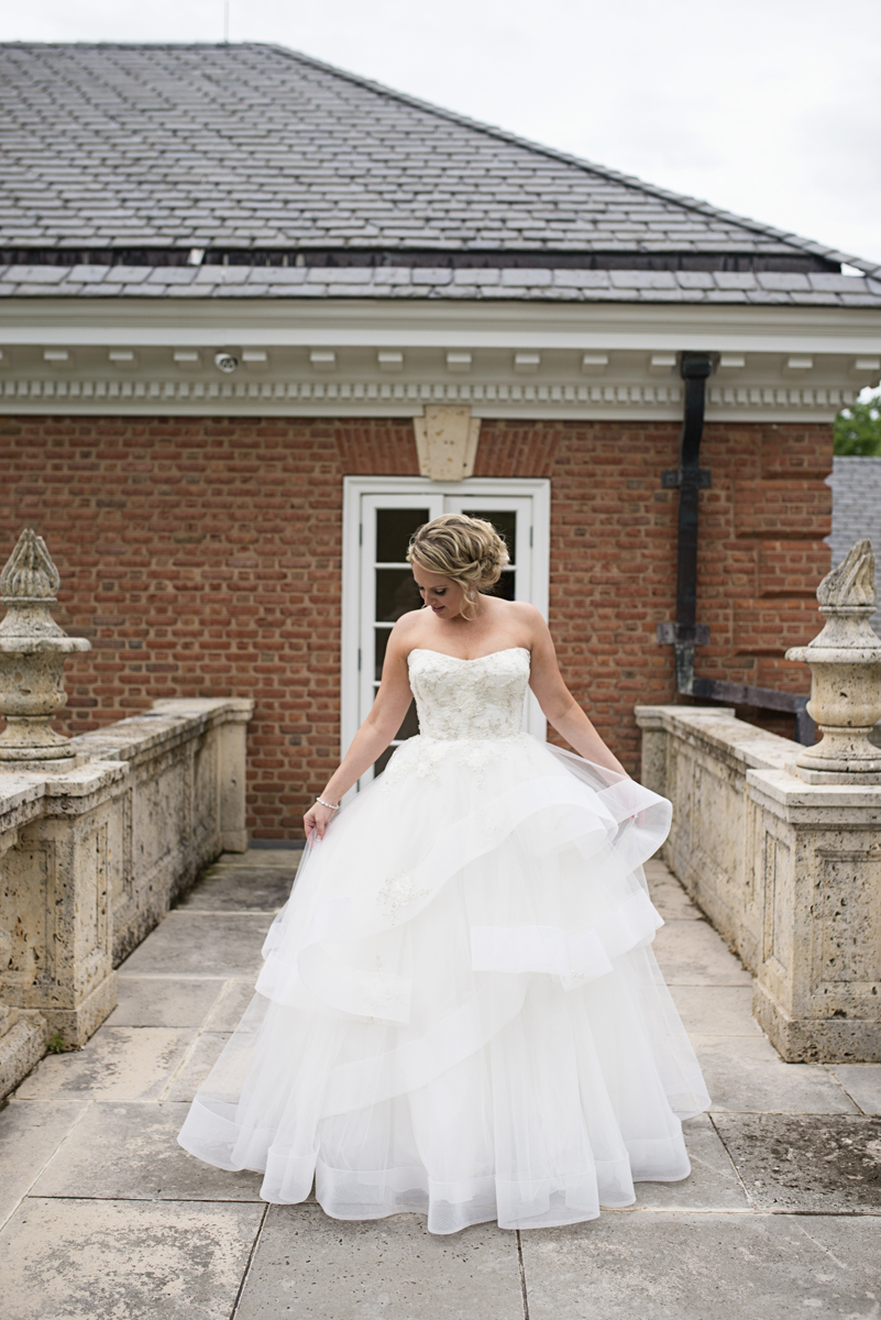 Albemarle Estate at Trump Winery Wedding | Monique Lhullier Wedding Dress