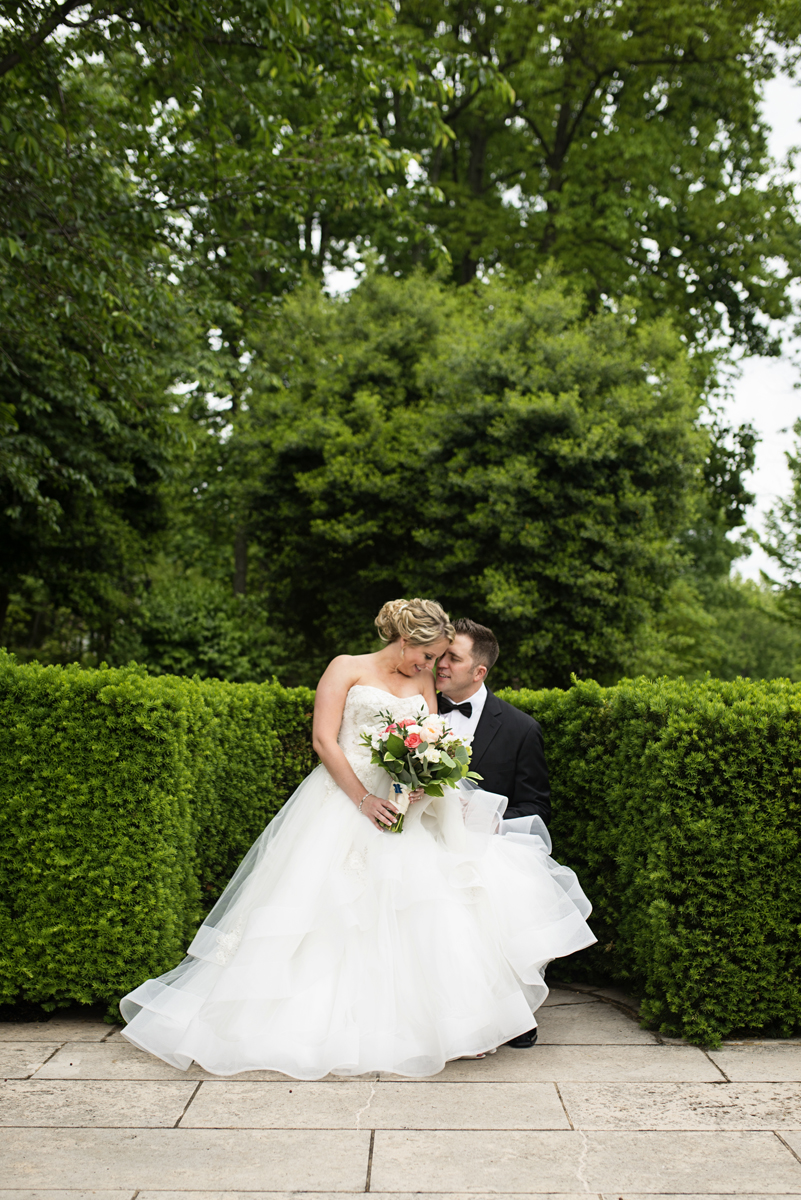 Albemarle Estate at Trump Winery Wedding | Bride and Groom Portraits