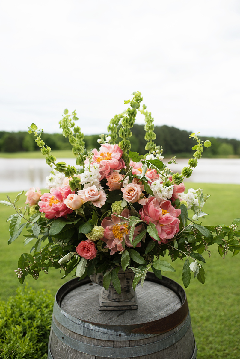 Albemarle Estate at Trump Winery Wedding | Wedding Ceremony Floral Design