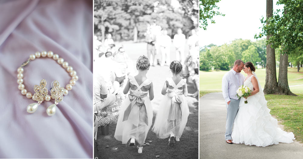 Cedar Point Country Club Virginia Beach Wedding