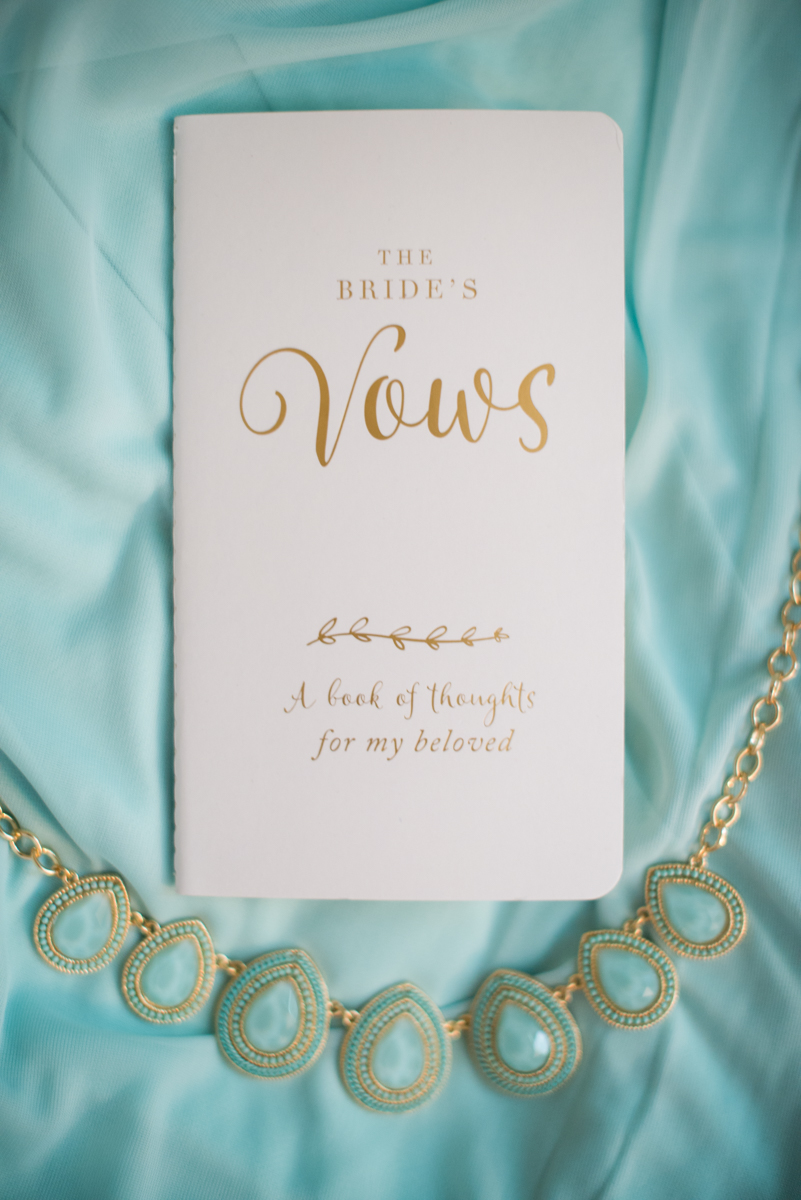 Gold and Teal Summer Wedding | The Bride's Vows