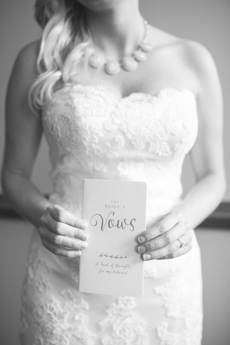 Gold and Teal Summer Wedding | The Bride's Vow Book