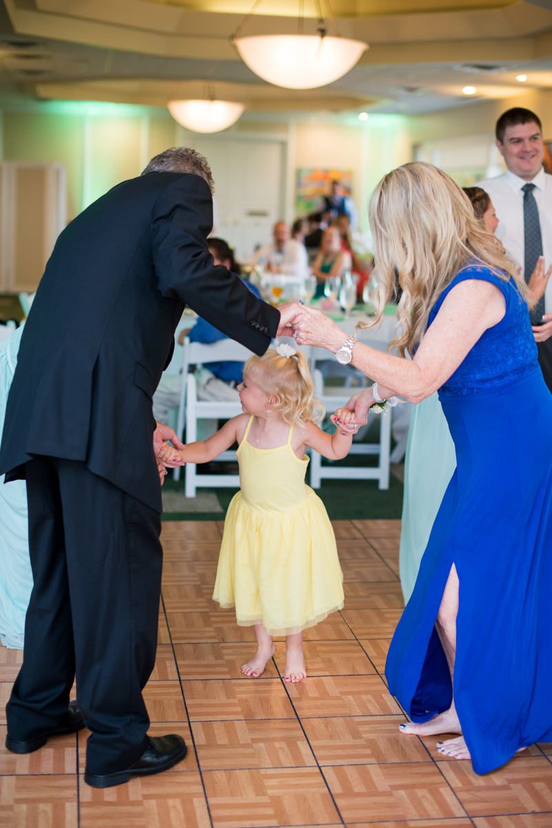 Gold and Teal Summer Wedding | Wedding Reception Dancing